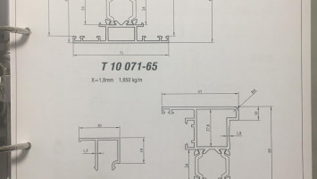 65'lik Termo Seri Profiller