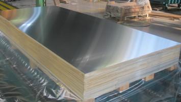 1,0mm Kalınlığında 1250x2500mm Ebatında Eloksallı Alüminyum Levha