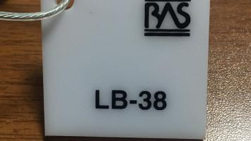 Beyaz Renk Pleksiglas BAS-LB38 Akpolimer 60122DF