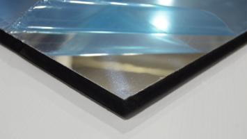 0,70mm Kalınlığında 1250x2000mm Ebatında Gümüş Aynalı Alüminyum Levha
