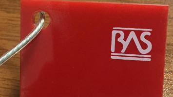 Kırmızı Renk Pleksiglas BAS-K283 Akpolimer 20183