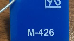 Mavi Renk Pleksiglas BAS-M426 Akpolimer 40242DF