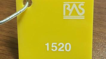 Sarı Renk Pleksiglas BAS-1520 Akpolimer 50265DF