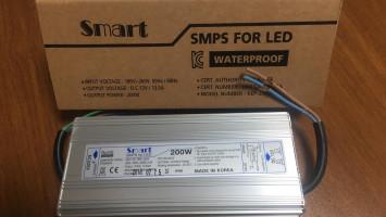 Smart 200W 16,5A Dış Mekan Adaptör