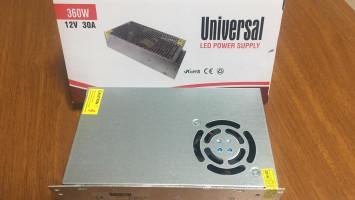 İç Mekan Universal 360W 30A Adaptör