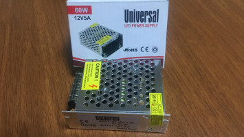 İç Mekan Universal 60W 5A Adaptör