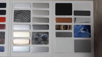 Cephe Kaplama Amaçlı Kullanılan Metalik Renk Kompozit Paneller