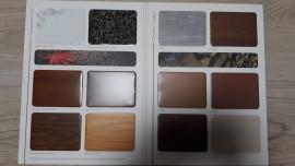 Cephe Kaplama Amaçlı Kullanılan Ahşap Desenli Kompozit Paneller