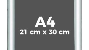 A4 Alüminyum Açılır Çerçeve