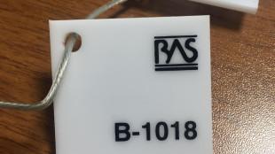 Beyaz Renk Pleksiglas BAS-B1018 Akpolimer 6510DF