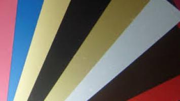 0,70mm Kalınlığında 1000x2000mm Ebatında Eloksal Renk Boyalı Alüminyum Levha