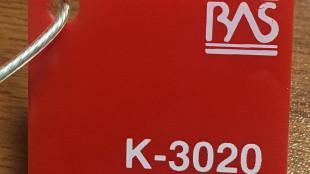 Kırmızı Renk Pleksiglas BAS-3020 Akpolimer 20212DF