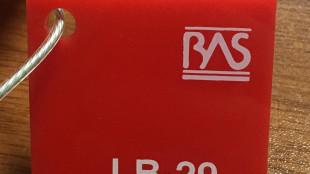 Kırmızı Renk Pleksiglas BAS-LB29 Akpolimer 20212DF