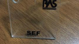 Şeffaf Renk Pleksiglas BAS-SEF Akpolimer 1000