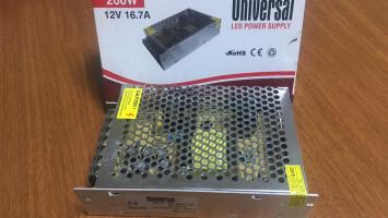İç Mekan Universal 200W 16,50A Adaptör