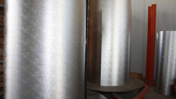 0.30mm Kalınlığında 1000mm Eninde Gofrajlı Alüminyum Rulo